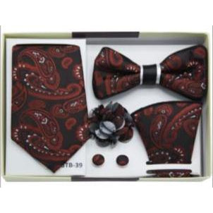 Men's 5pc Bow Tie/Tie Gift Set - DF