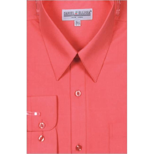 Men's Basic Dress Shirt- Daniel Elissa -DF