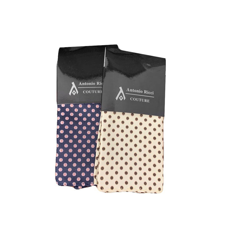 Men's Pin Dot Hanky-100% Microfiber