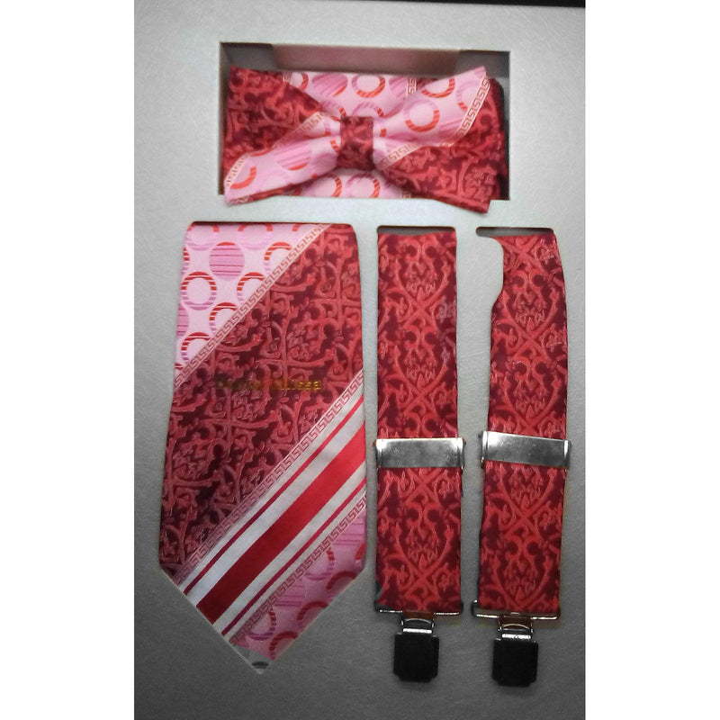 Men's Suspender Gift Set (4pc)
