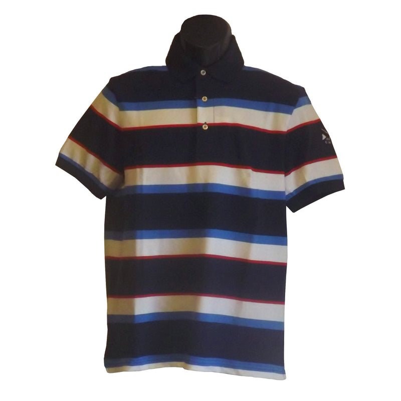 Chaps S/S Stripe Polo-DF