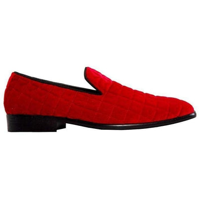 Men's Dress Velvet Slipper-DF