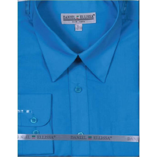 Men's Basic Dress Shirt - Daniel Ellissa-DF
