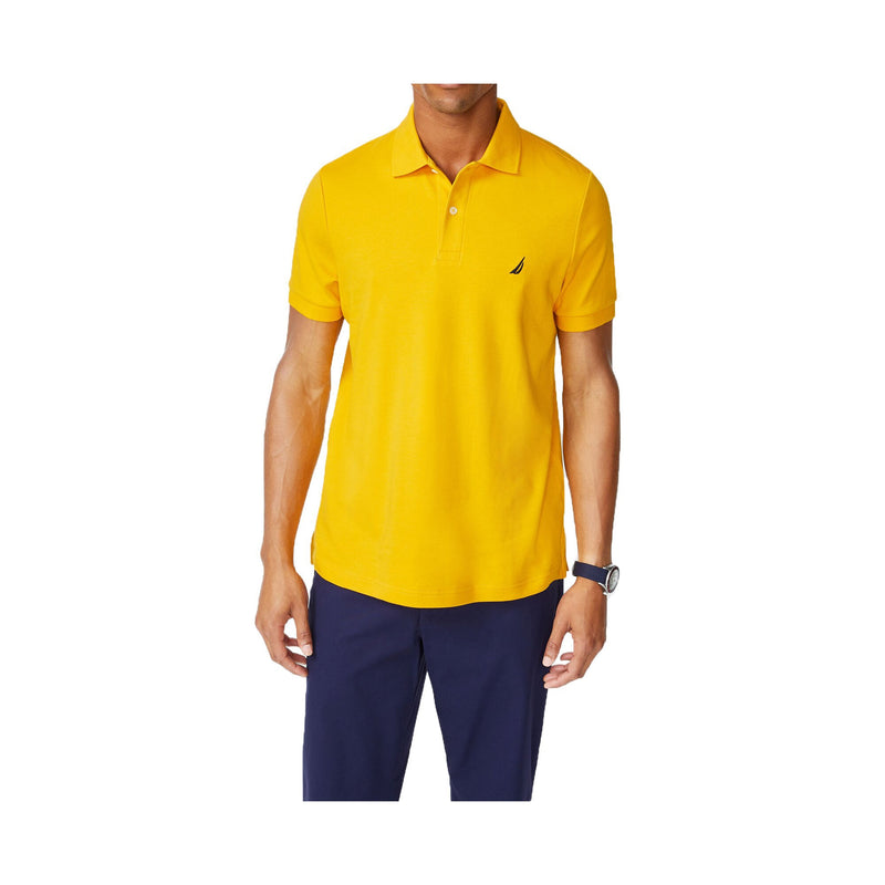 Nautica Slim Fit Interlock Polo