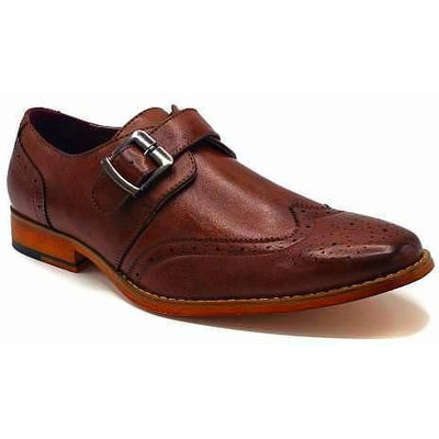 Men's Dress Monk Strap-DF