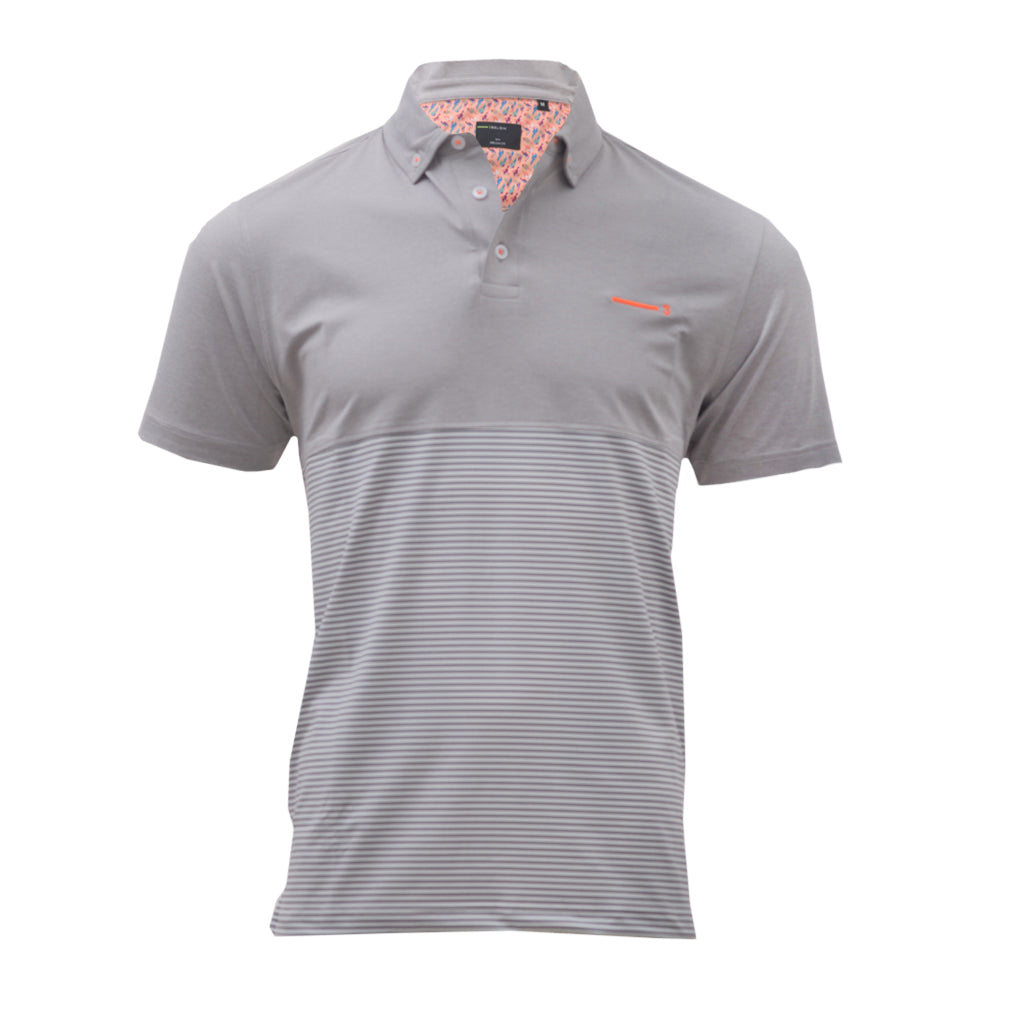 GREY HORNBILL MEN'S GOLF T-SHIRT