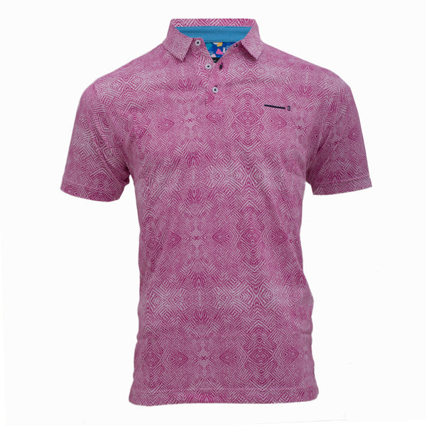 PETUNIA MEN'S GOLF T-SHIRT