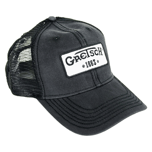 Gretsch 1883 Logo Patch Trucker Hat, Limited Edition - GretschGear