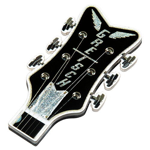 Gretsch Headstock Fridge Magnet,  - Gretsch Gear