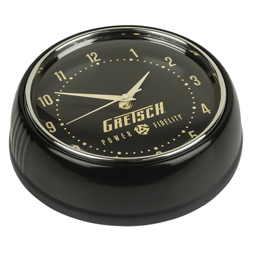Gretsch Power & Fidelity Retro Wall Clock,  - Gretsch Gear