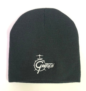 Gretsch Drum Logo Beanie, Black,  - Gretsch Gear