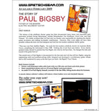 Book: Story of Paul Bigsby, Limited Edition - Special Collector's Edition,  - Gretsch Gear
