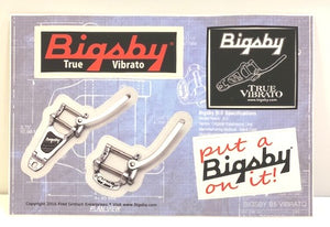 Bigsby Sticker Sheet,  - Gretsch Gear