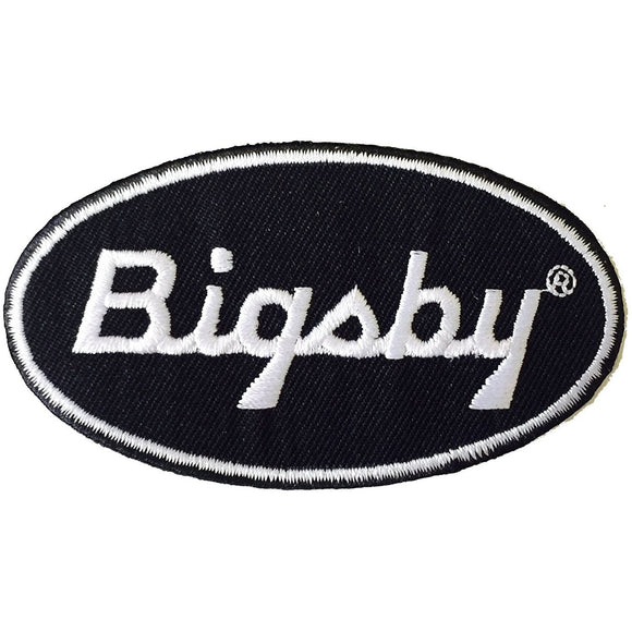 Patch, Bigsby Logo Embroidered - Gretschgear