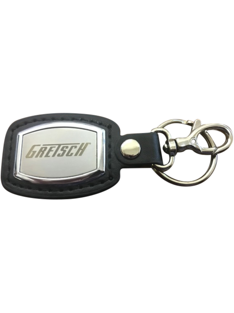 NEW Gretsch Brushed Plate Keychain,  - Gretsch Gear