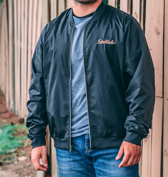 NEW! Gretsch Lightweight Bomber-Style Windbreaker, jacket - Gretsch Gear
