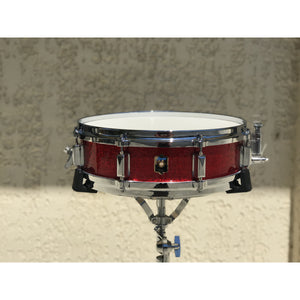 LEEDY Elite Standard 4 x 14 Red Sparkle Snare Drum,  - Gretsch Gear