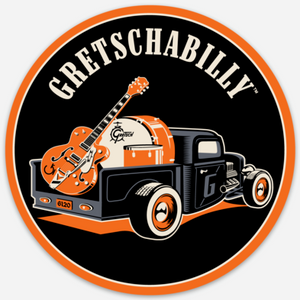 Gretschabilly Sticker,  - Gretsch Gear