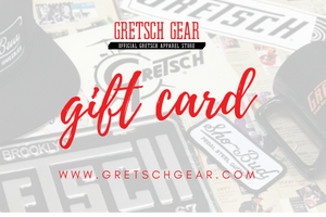 Gift Cards, Gift Card - Gretsch Gear