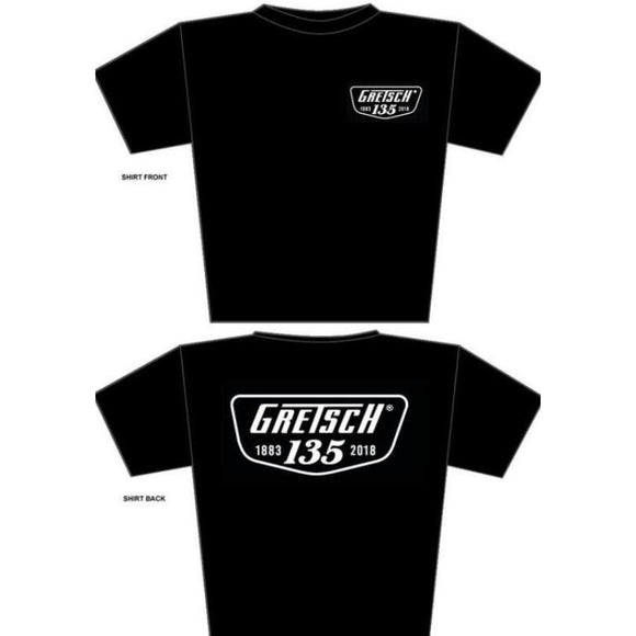 Gretsch 135th Anniversary T-Shirt,  - Gretsch Gear