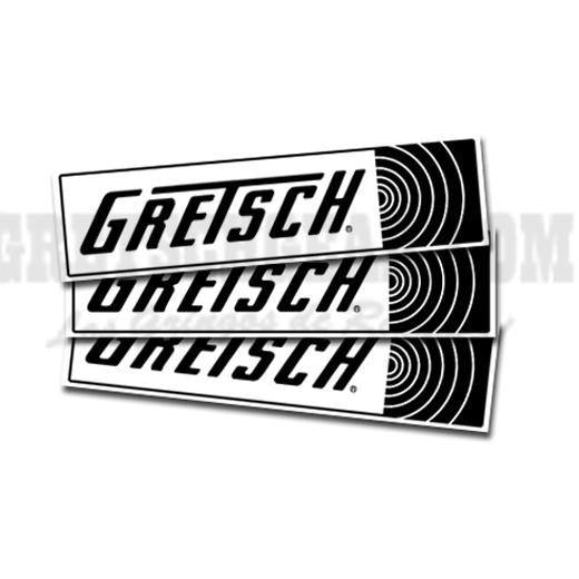 Bumper Sticker - Gretsch Sound Logo,  - Gretsch Gear