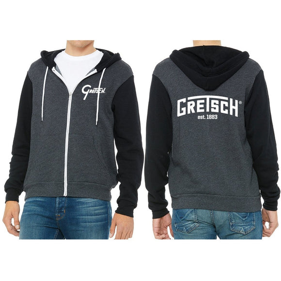 Hoodie, Gretsch Full Zip Fleece (NEW) - Gretschgear