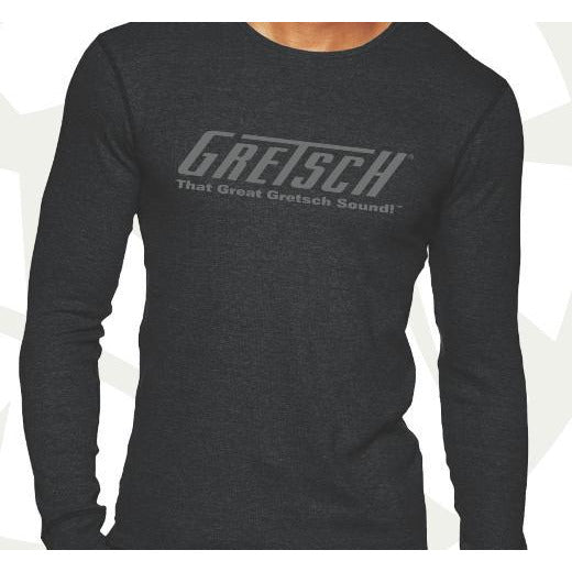 Shirt, Men's Gretsch T-Roof Logo Thermal, Men Shirt - Gretsch Gear