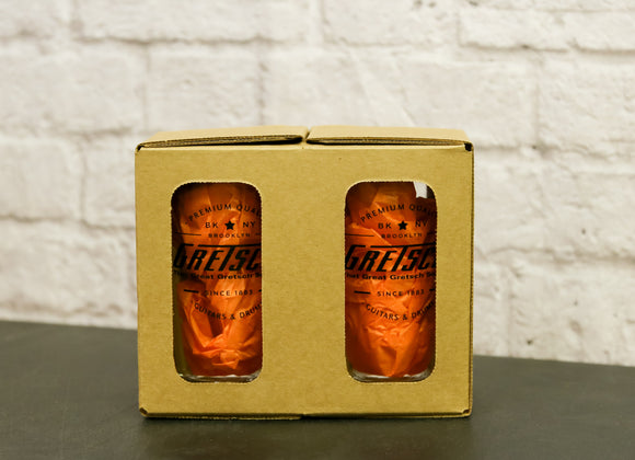 Gretsch Pint Glass, 2-Pack, drinkware - Gretsch Gear