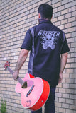Gretsch Flaming Falcon Dickie Work Shirt, Limited Edition - GretschGear