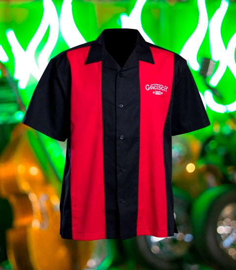Gretsch Retro Camp Bowling Shirt,  - Gretsch Gear