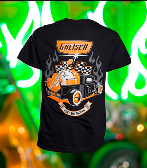 Gretsch Full Gear 100% Cotton T-Shirt,  - Gretsch Gear