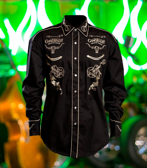Limited-Edition Rockmount Gretsch Western Shirt,  - Gretsch Gear