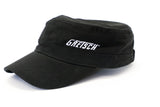 Gretsch Military Style Cap, Black, hat - Gretsch Gear