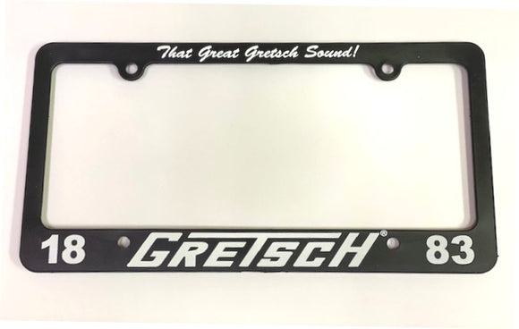 That Great Gretsch Sound License Plate Frame - GretschGear