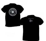 Gretsch Round Badge 100% Cotton T-Shirt, Black, T-Shirt - Gretsch Gear