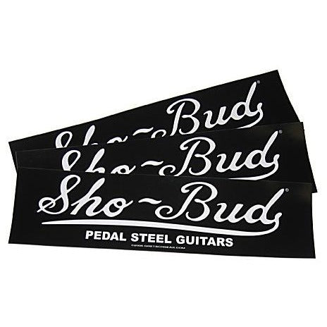 Bumper Sticker - Sho-Bud Logo,  - Gretsch Gear