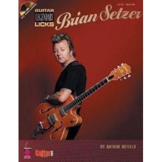 Brian Setzer - Guitar Legendary Licks Book & CD - Gretschgear
