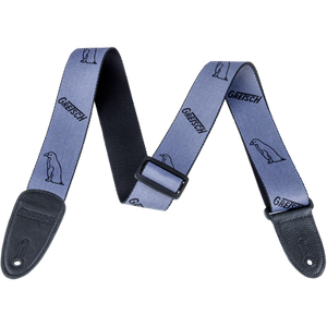 Gretsch Penguin Poly Strap_Grey and Black,  - Gretsch Gear