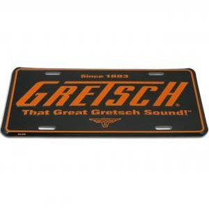 License Plate, That Great Gretsch Sound,  - Gretsch Gear