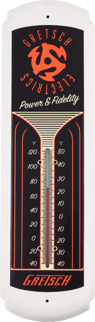Gretsch® Power & Fidelity™ Tin Thermometer,  - Gretsch Gear