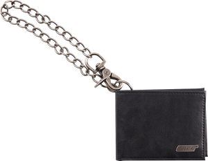 Gretsch® Limited Edition Leather Wallet with Chain, Black - GretschGear