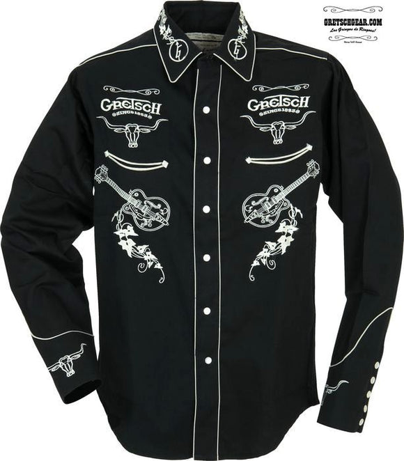 Rockmount Gretsch Men's Western Shirt,  - Gretsch Gear