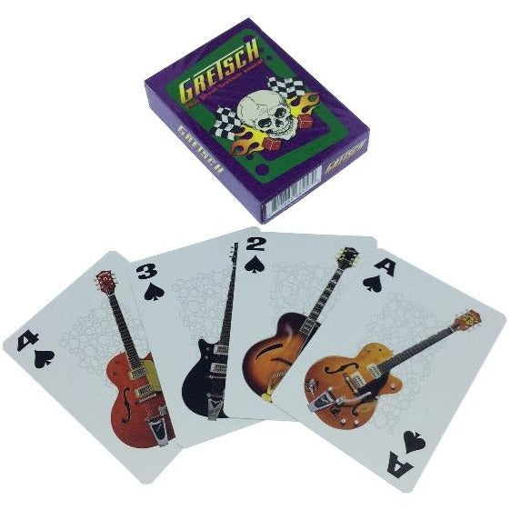 Vintage Gretsch Playings Cards - Skull - GretschGear