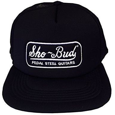 Hat, Sho Bud Logo Trucker, Black,  - Gretsch Gear