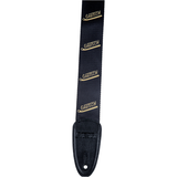 Gretsch Vibrato Arm Poly Strap_Black and Gold,  - Gretsch Gear