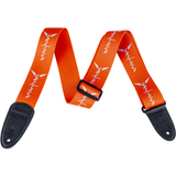 Strap, Gretsch Wing Logo Poly_Orange and Grey,  - Gretsch Gear