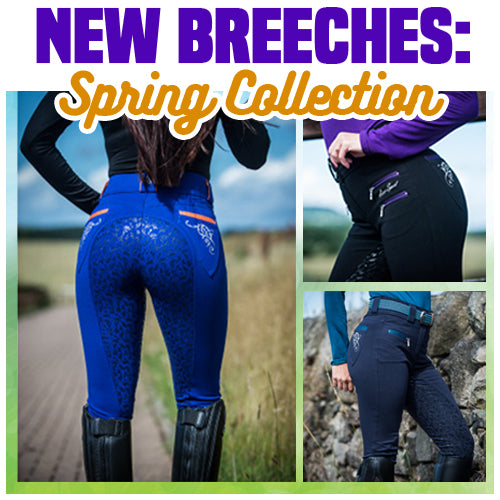 4D- Gel Breeches (Spring Collection)