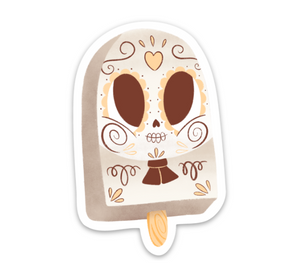 "Coco Paleta | Day of the Dead 3""x3"" Sticker"