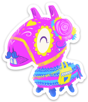 fortnite loot llama day of the dead magnet