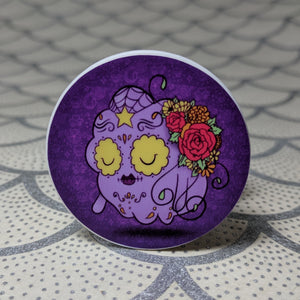 Lumpy Space Princess - Adventure Time Phone Holder | Day of the Dead Mashup